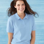 DryBlend® Women's Double Pique Sport Shirt