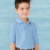 DryBlend® Youth Double Pique Sport Shirt