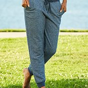 Women's Denim Fleece Jogger