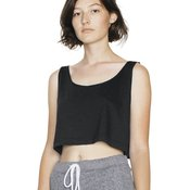 Women's Poly/Cotton Loose Crop Tank Top
