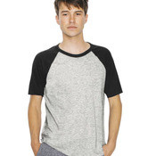 Unisex Poly/Cotton Short Sleeve Raglan T-Shirt