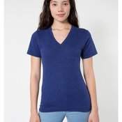 Unisex Tri-Blend Short Sleeve V-Neck T-Shirt