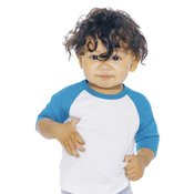 Infant Poly-Cotton 3/4 Sleeve Raglan T-Shirt