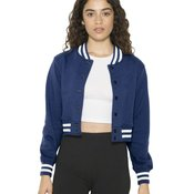 Women's Heavy Terry Cropped Club Jacket