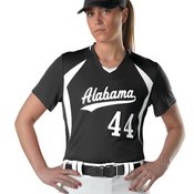 Girls' Short Sleeve Fastpitch Jersey