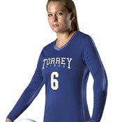 Women's Dig Long Sleeve Volleyball Jersey