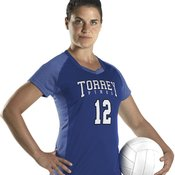 Women's Dig Short Sleeve Volleyball Jersey