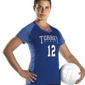 Girl's Dig Short Sleeve Volleyball Jersey