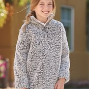 Epic Sherpa Youth Quarter-Zip Pullover
